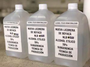 Lee más sobre el artículo Salud Nueva Licorera de Boyacá le apuesta a vender alcohol antiséptico para afrontar desabastecimiento por contingencia sanitaria