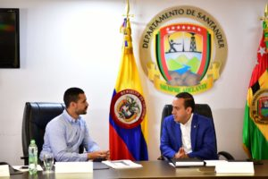 Lee más sobre el artículo Mauricio Aguilar Hurtado recibe apoyo del Ministerio del Interior para fortalecer la seguridad en Santander
