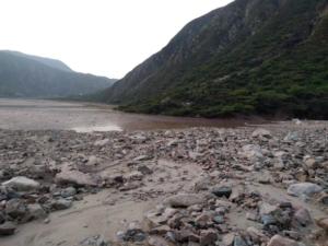 Dirección de Gestión del Riesgo de Santander reduce obstrucción en el río Chicamocha