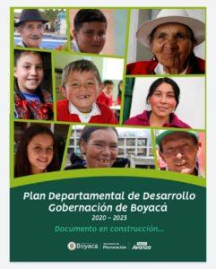 Boyacá presenta la versión preliminar de su Plan de Desarrollo