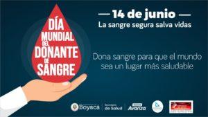 Únase al Día Mundial del Donante de Sangre, este 14 de junio