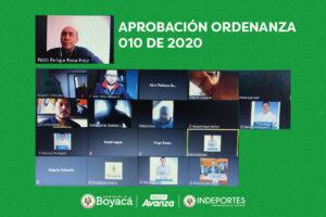 Indeportes Boyacá reactivará programas especiales en convenio con el Ministerio del Deporte