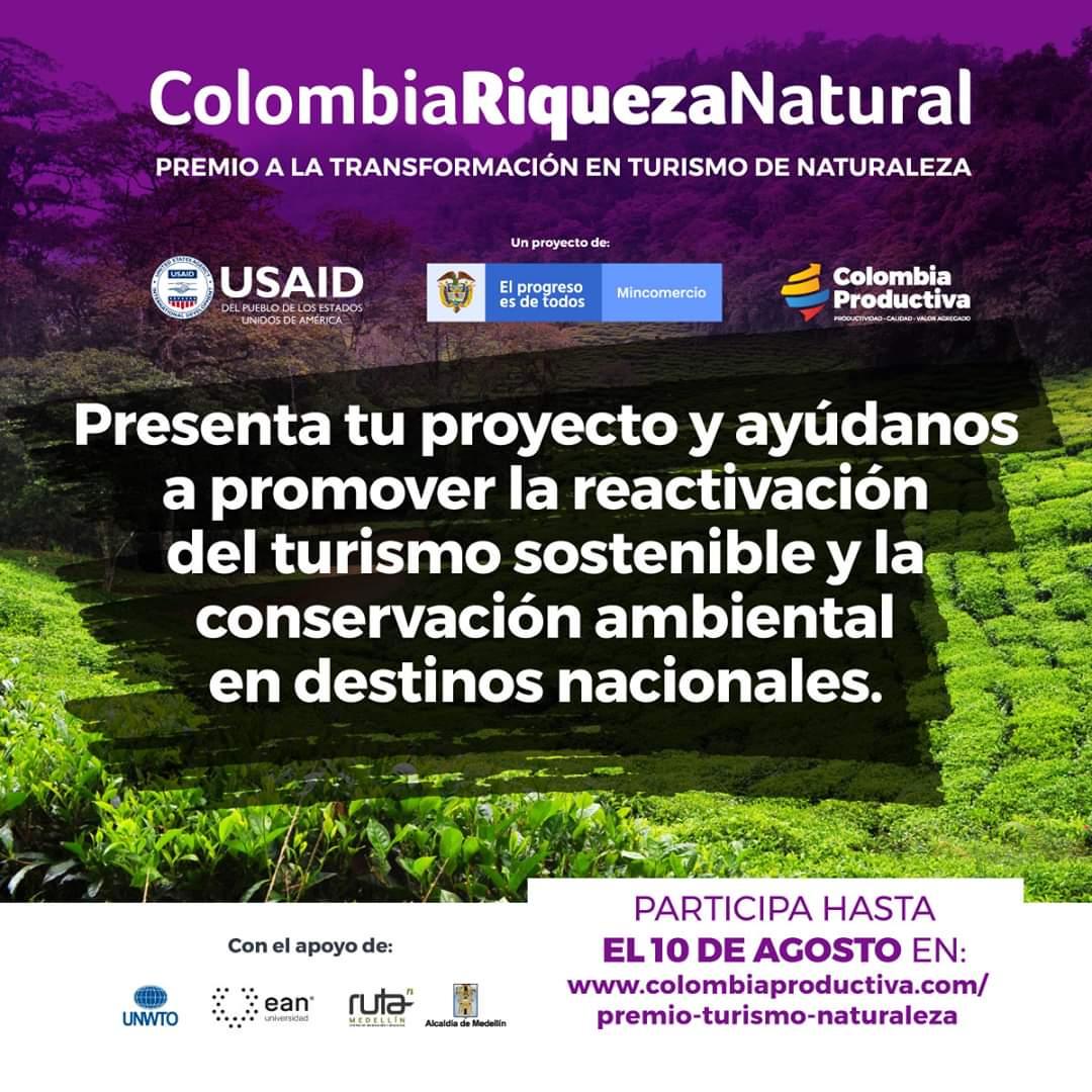 Abren convocatoria para el premio a la transformación en turismo de naturaleza