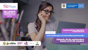 Mujeres santandereanas podrán ser líderes de la transformación digital.
