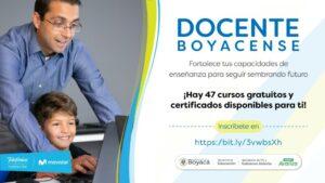 Disponibles 47 cursos TIC para docentes boyacenses