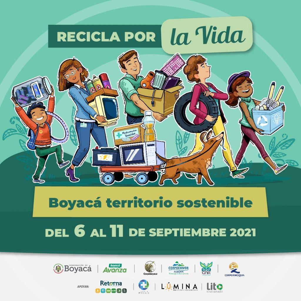 En este momento estás viendo Conozca el ABC de la campaña 'Recicla por la vida, Boyacá territorio sostenible'